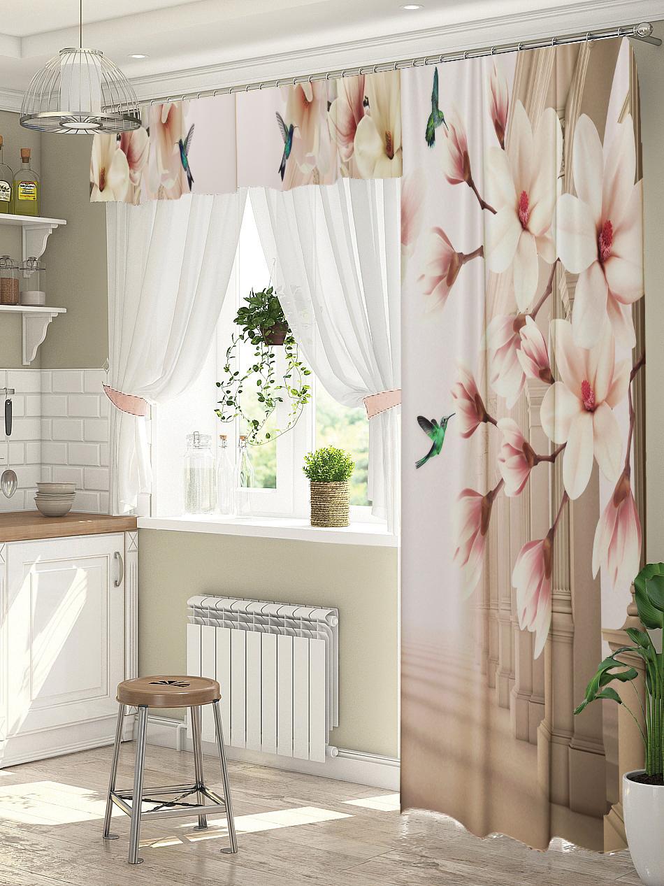 дизайн штор для кухни с балконом фото как